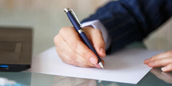 lettera all'assicurazione